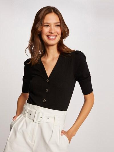 Morgan Strickjacke 'BALI' in schwarz, Modelansicht