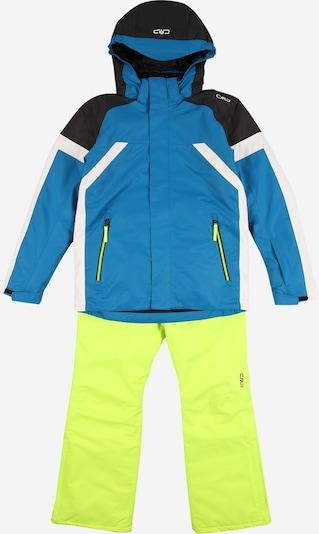 CMP Strój sportowy w kolorze niebieski / atramentowy / limonkowy / białym, Podgląd produktu