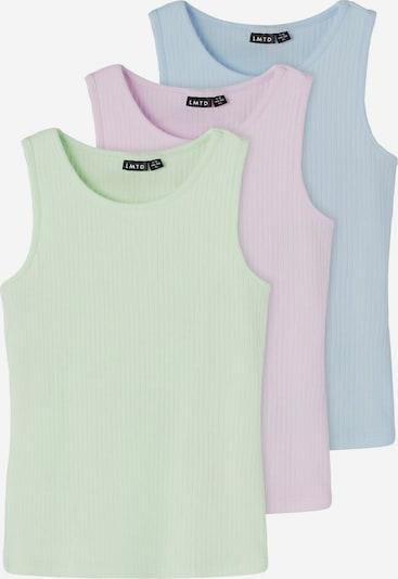 NAME IT Onderhemd in de kleur Lichtblauw / Lichtgroen / Rosa, Productweergave