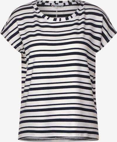 STREET ONE T-Shirt in blau / weiß, Produktansicht