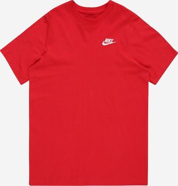 Nike Sportswear Shirt in Red