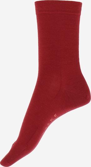 Șosete 'Softmerino' FALKE pe roșu, Vizualizare produs