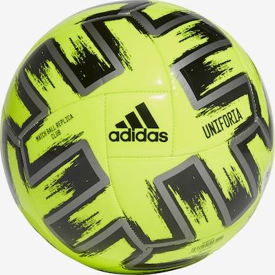 ADIDAS PERFORMANCE Ball in neongelb / schwarz, Produktansicht