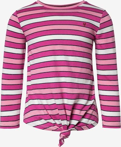 s.Oliver Shirt in pink / rosa / schwarz / weiß, Produktansicht