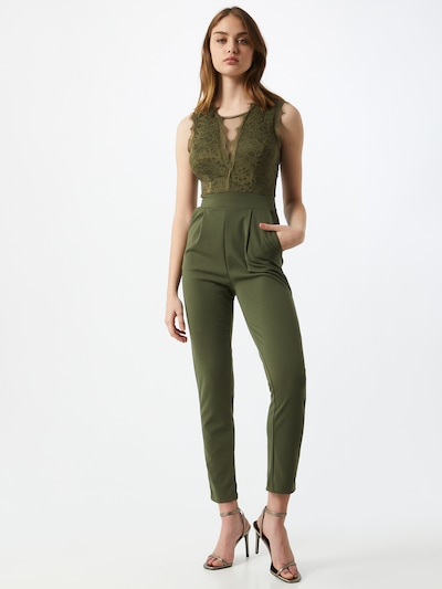 WAL G. Jumpsuit in oliv, Modelansicht