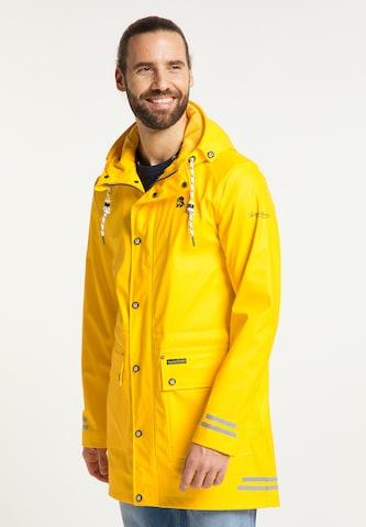 Manteau mi-saison Schmuddelwedda en jaune