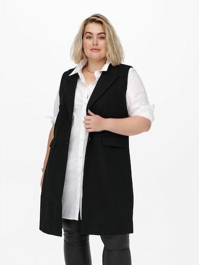 ONLY Carmakoma Vest in Black, View model