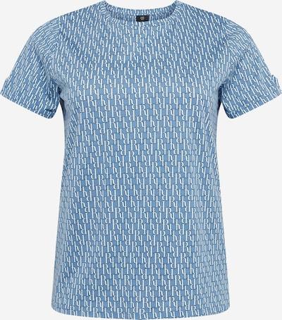 River Island Plus Tričko - modrá / bílá, Produkt