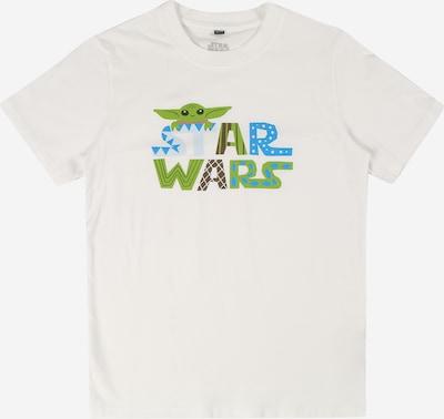 Mister Tee Shirt 'Star Wars' in de kleur Blauw / Groen / Kaki / Wit, Productweergave