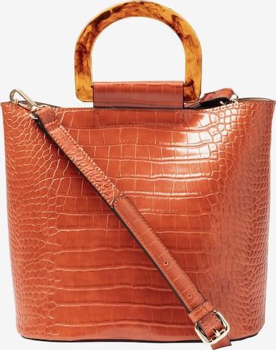 HALLHUBER Handtasche in Kroko-Optik in kupfer / rot, Produktansicht