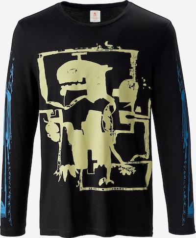 PHYNE Shirt in de kleur Gemengde kleuren / Zwart, Productweergave