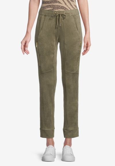 Betty Barclay Hose in khaki, Modelansicht