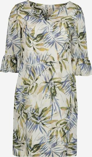 Lavard Kleid in beige / ecru / blau / grün, Produktansicht
