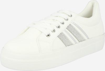 NEW LOOK Sneaker 'MYSTIC' in silber / weiß, Produktansicht