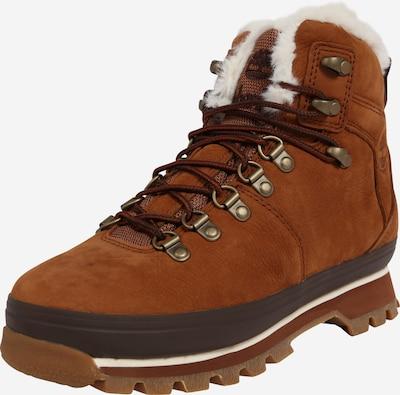 TIMBERLAND Sniega apavi 'Eurohiker' brūns / konjaka toņa / balts, Preces skats