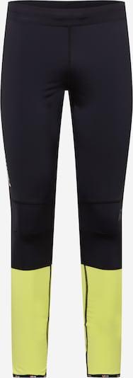 Rukka Sporthose 'MUINOS' in neongelb / schwarz, Produktansicht