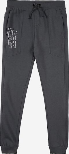 NAME IT Trousers 'SULFUS' in smoke grey / white, Item view