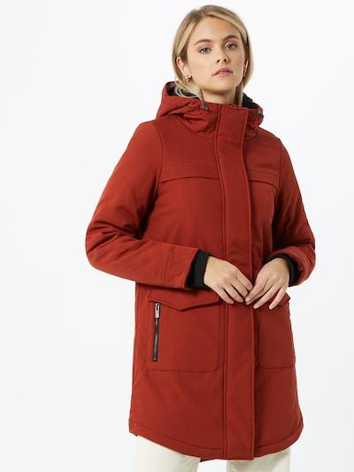 ONLY Manteau mi-saison 'Maastricht' en orange, Vue avec modèle