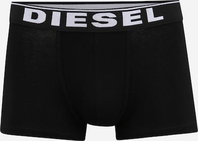 DIESEL Bokserishortsit 'UMBX-DAMIEN' värissä musta / valkoinen, Tuotenäkymä