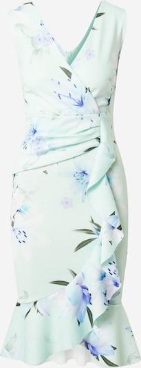 Sistaglam Kleid 'GIORGIE' in türkis / mint / pastelllila / mischfarben / weiß, Produktansicht