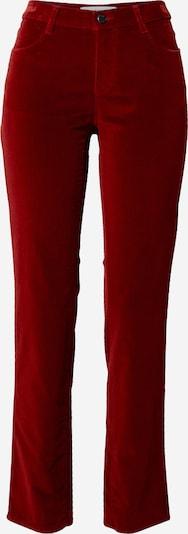 BRAX Jean 'Mary' en rouge cerise, Vue avec produit