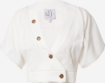 WEARKND Blouse 'Antonia' in White