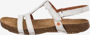 ART Strap Sandals in White