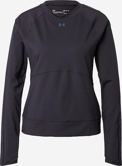 UNDER ARMOUR Sportsweatshirt in blau / hellgrün / schwarz, Produktansicht