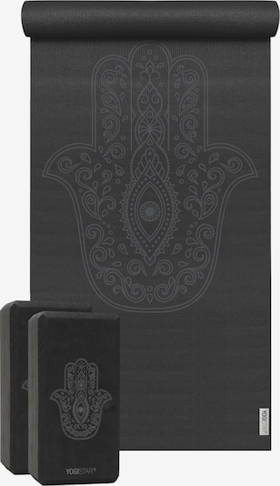 YOGISTAR.COM Yoga-Set in schwarz, Produktansicht