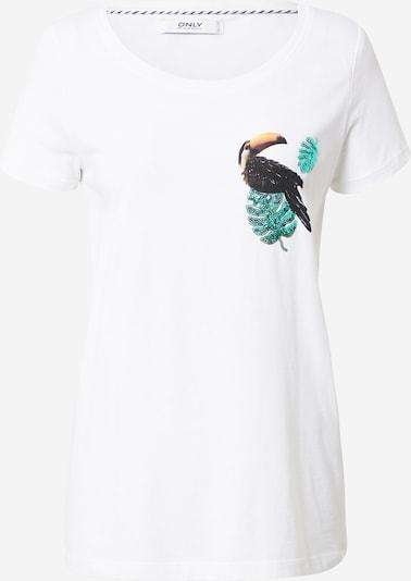ONLY Tričko 'Kita' - zmiešané farby / biela, Produkt