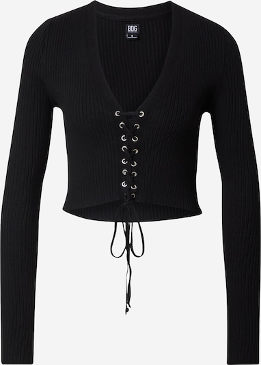 BDG Urban Outfitters Shirt 'Eyelet' in de kleur Zwart, Productweergave