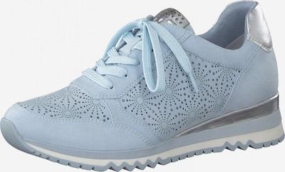 MARCO TOZZI Sneaker in rauchblau / silber, Produktansicht