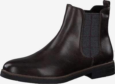 MARCO TOZZI Chelsea Boots in grau / bordeaux, Produktansicht