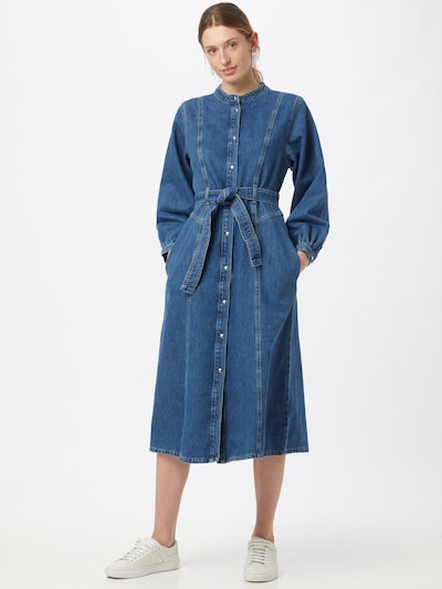 NORR Kleid 'Texas' in blue denim, Modelansicht