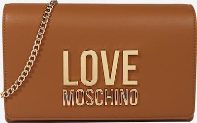 Love Moschino Чанта за през рамо тип преметка в камел / злато, Преглед на продукта
