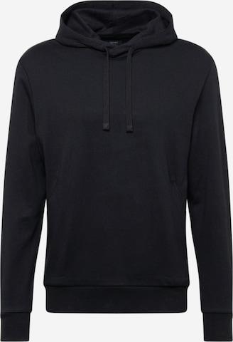 Bluză de molton de la Esprit Collection pe negru