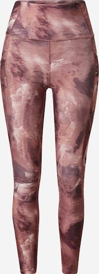 Pantaloni sport 'SIA' Marika pe gri deschis / burgund, Vizualizare produs