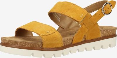 TAMARIS Sandalen in senf, Produktansicht