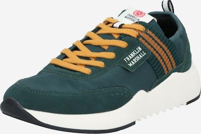 FRANKLIN & MARSHALL Sneaker 'ALPHA' in gelb / dunkelgrün, Produktansicht
