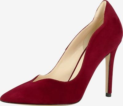 EVITA Escarpins en rouge, Vue avec produit