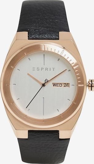 ESPRIT Montre à affichage analogique en or rose / noir / blanc, Vue avec produit