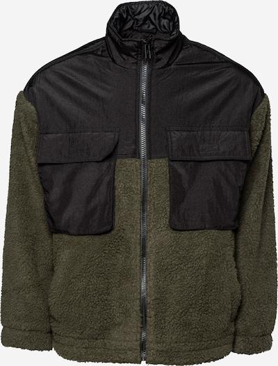 Mennace Flisová bunda - kaki / čierna, Produkt