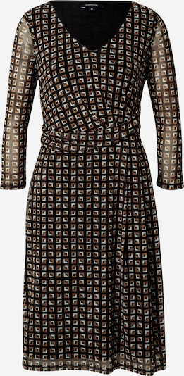 COMMA Dress in brown / black, Item view