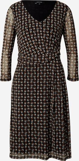 COMMA Kjole i brun / sort, Produktvisning