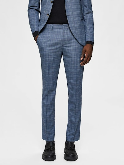 SELECTED HOMME Anzughose in blau: Frontalansicht