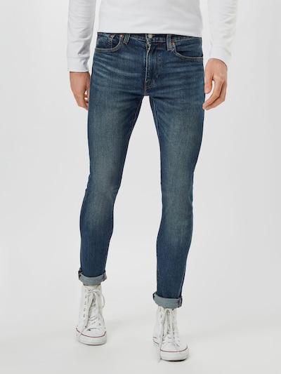 LEVI'S Jeans 'Skinny Taper' in de kleur Blauw denim, Modelweergave