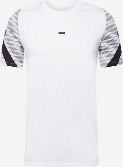 NIKE Sporta krekls, krāsa - pelēks / melns / balts, Preces skats