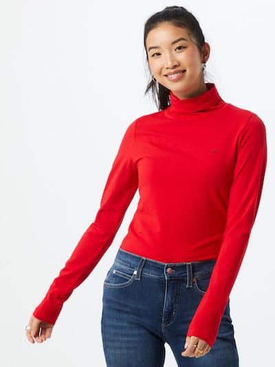 Marškinėliai iš Calvin Klein , spalva - raudona: Vaizdas iš priekio