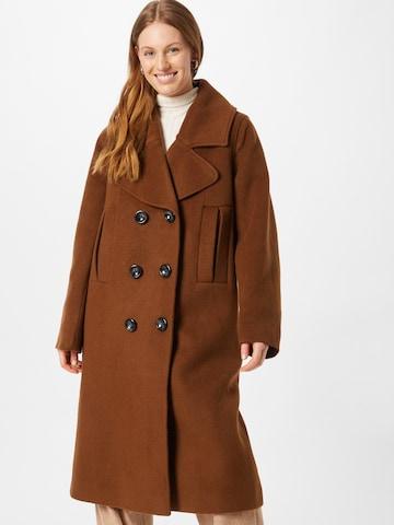 Palton de primăvară-toamnă 'Include' de la Libertine-Libertine pe maro
