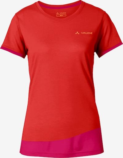 VAUDE T-Shirt 'Sveit' in pink / rot, Produktansicht